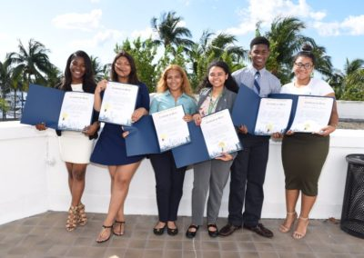 MDCPS 2016 Scholarship Reception at Miami City Hall