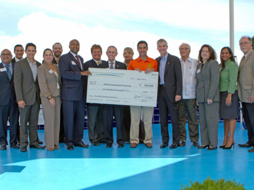 Florida International University MBA Check Presentation