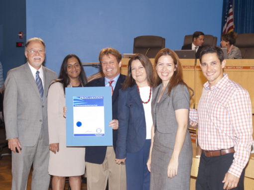 School Board of Miami-Dade County Presents Proclamation to MBF