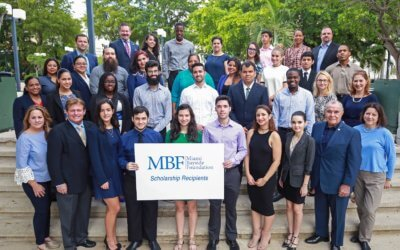 Congratulations to MBF's Miami Dade College Scholarship Recipients 2017-2018!