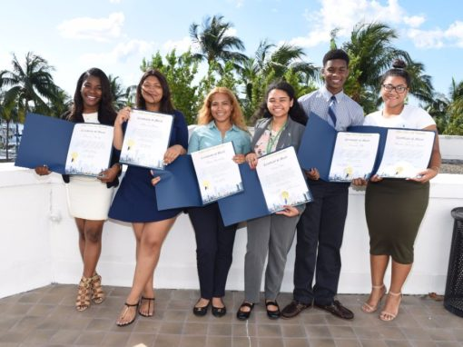 MDCPS 2016 Scholarship Reception at Miami City Hall