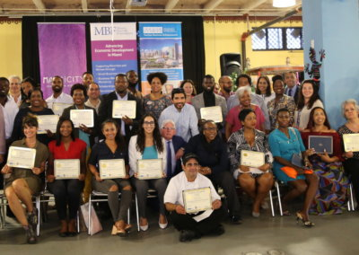 Small Business Training Graduation: Summer 2018