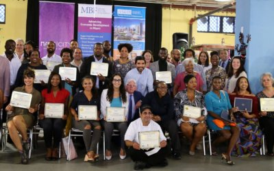 MBF Graduates 8th Small Business Training Class