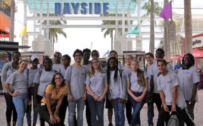 Miami Bayside Foundation Hosts Young Entrepreneurs for a Day of Fun