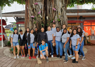 NFTE Fieldtrip at Bayside Marketplace July 2019